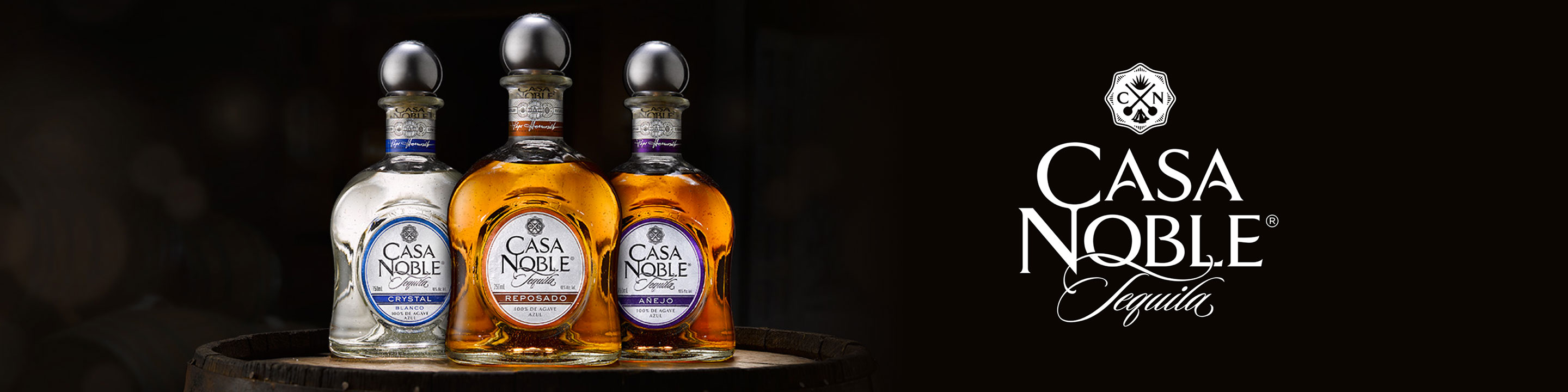 To craft superior tequila worth sharing, that's Casa Noble's pursuit. The tequila is made from estate-grown agaves cooked in traditional stone ovens; these are naturally fermented and distilled three times.  Buy Casa Noble online now from your nearby liquor store via Minibar Delivery.