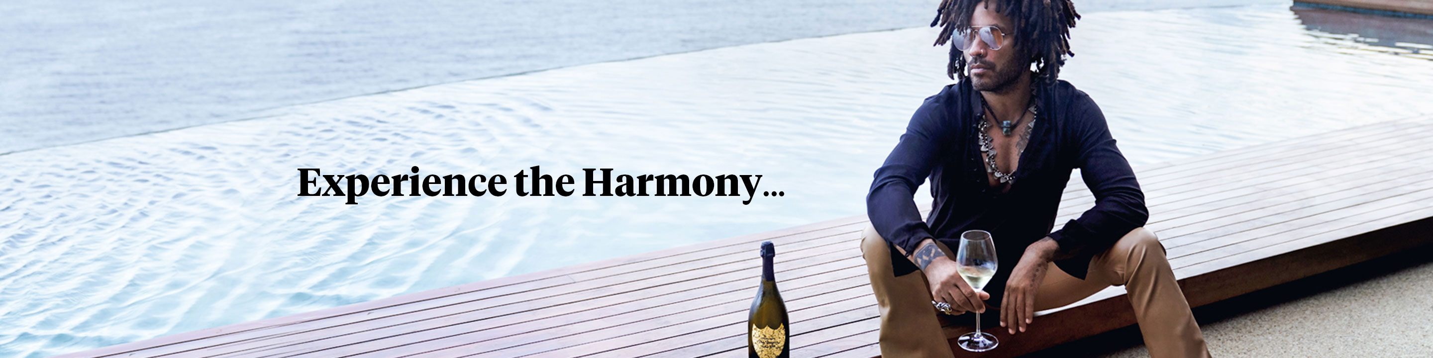 Dom Pérignon has a creative ambition: the quest for harmony as a source of emotion. All creative processes have their limitations. For Dom Pérignon, it's the vintage - an absolute commitment to representing the character of the harvest for a single year, whatever challenges it brings, even going as far as not declaring a vintage.