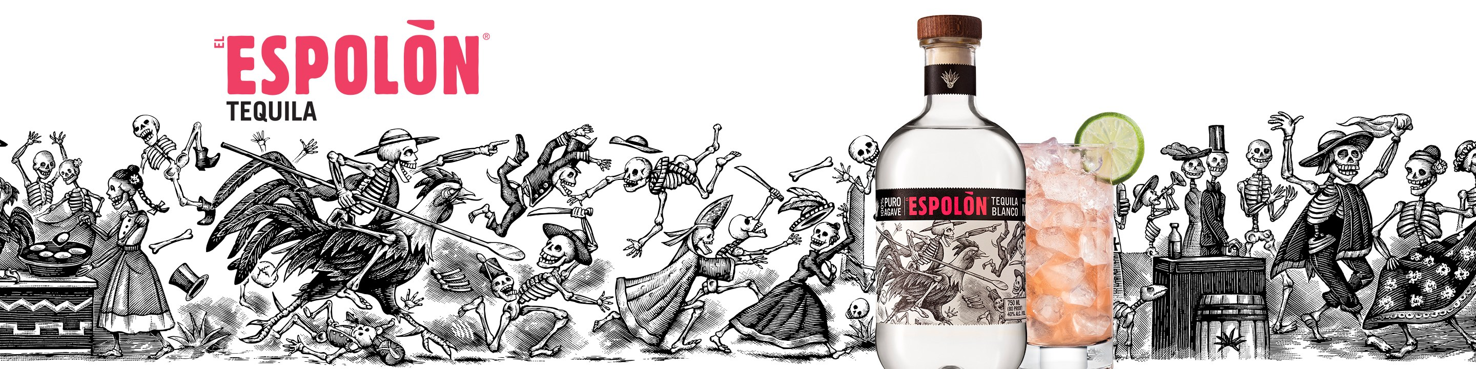 Made with hand-harvested 100% blue weber agave and distilled in the highlands of Jalisco, Mexico, Espolòn is the premium tequila that celebrates the storied culture of true Mexico through classic 19th century artistry and the iconic rooster, a symbol of national pride. The labels, unique illustrations inspired by Mexican artistry, infuse the characters of Guadalupe, Rosarita and Ramon the Rooster into journeys capturing real moments in Mexican history. Espolòn Tequila is produced in three marques, Blanco, Reposado and Anejo, and offers a limited time release, extra Anejo. Buy Espolòn Tequila online now from nearby liquor stores via Minibar Delivery.