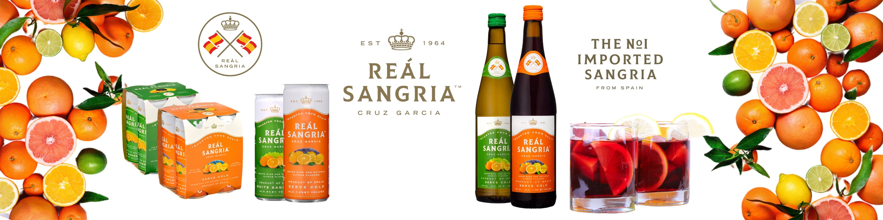 A true and authentic Sangria imported from Spain. Made  100%  from Spanish and natural citrus fruit flavors creating an authentic Spanish Sangria.