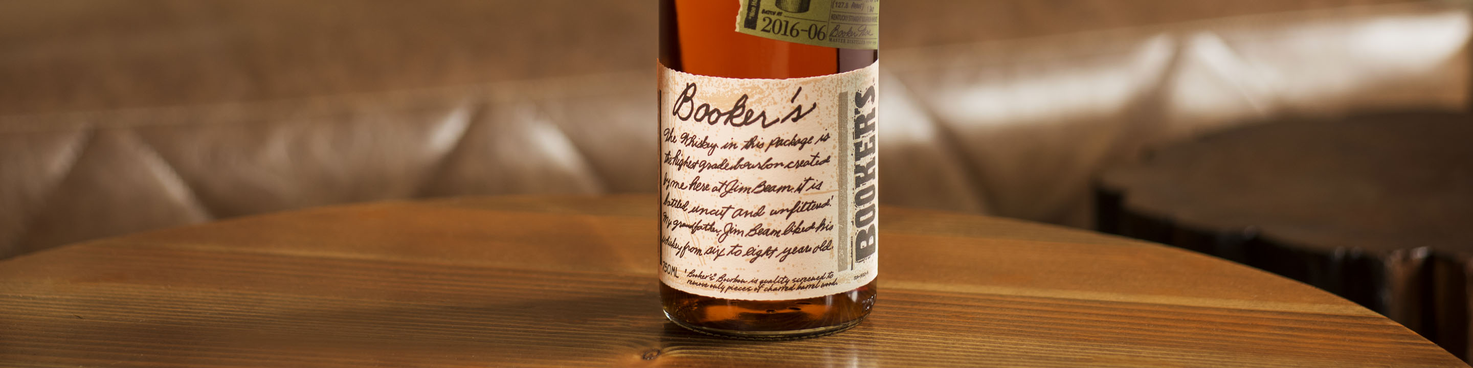 Discover Booker's® Bourbon, a small batch bourbon whiskey. Learn more about our cask strength bourbon, tasting notes, and more!