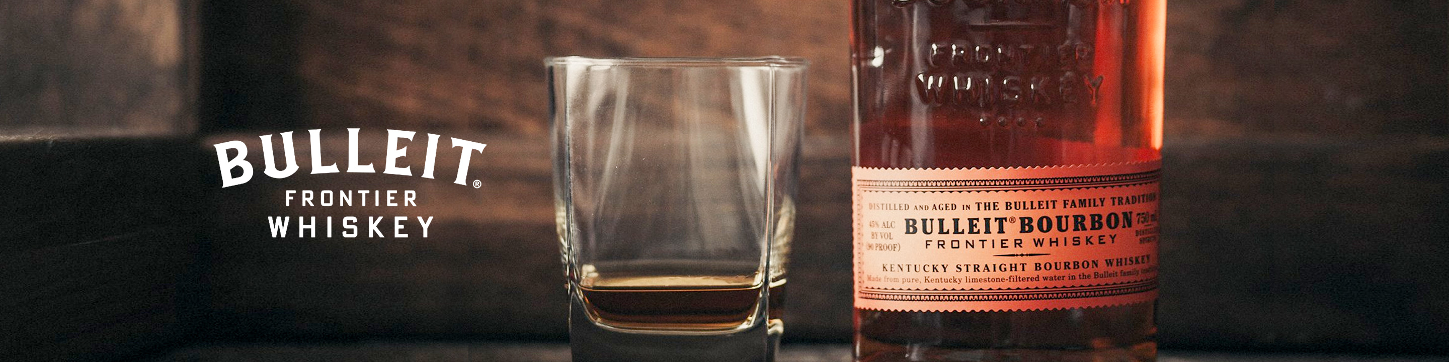 To this day, Bulleit™ Bourbon is distilled and aged in the Bulleit family tradition. High rye content gives it a bold, spicy character with a distinctively smooth, clean finish. Our aging philosophy is simple: we wait until our bourbon is ready.  Buy Bulleit online now from your nearby liquor store via Minibar Delivery.
