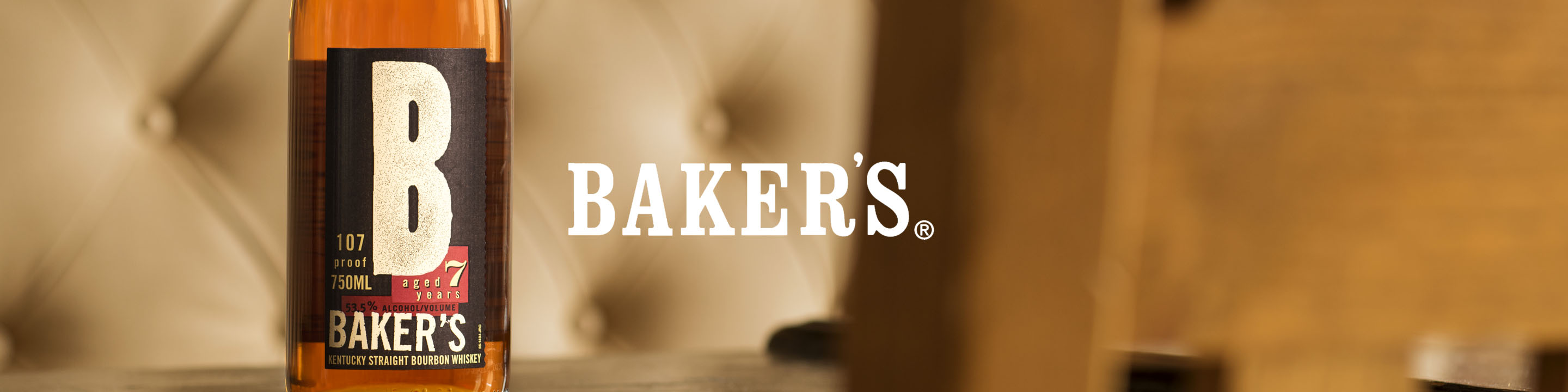 Baker's® Bourbon is a Small Batch, Kentucky Straight Bourbon Distilled & Selected in the Traditions of Baker Beam.  Buy Baker's online now from nearby liquor stores via Minibar Delivery.