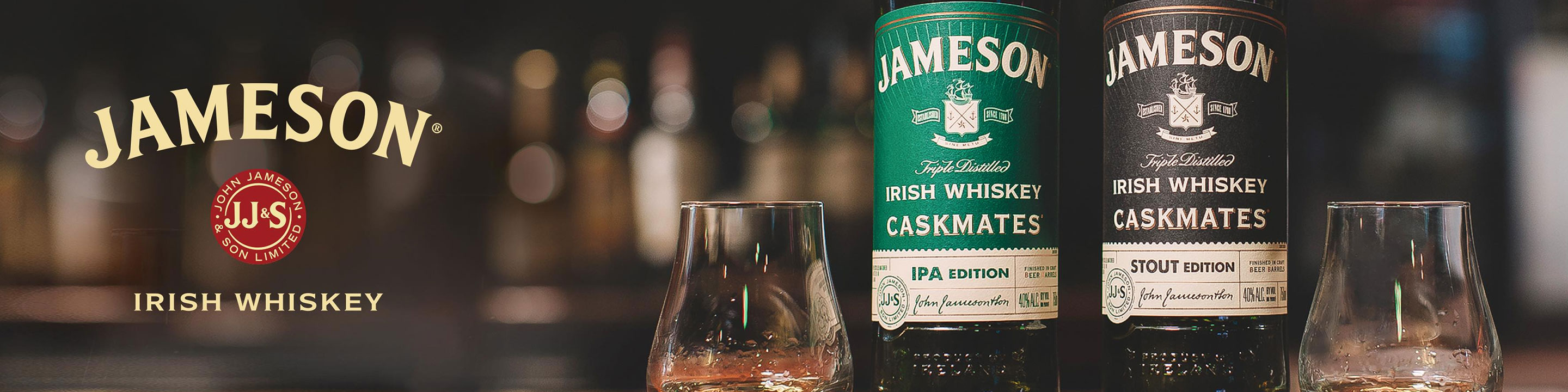Jameson Irish Whiskey is made by blending rich pot still whiskey made from both malted and unmalted barley, with the finest grain whiskey, both distilled 3 times for smoothness.  Buy Jameson online now from your nearby liquor store via Minibar Delivery.