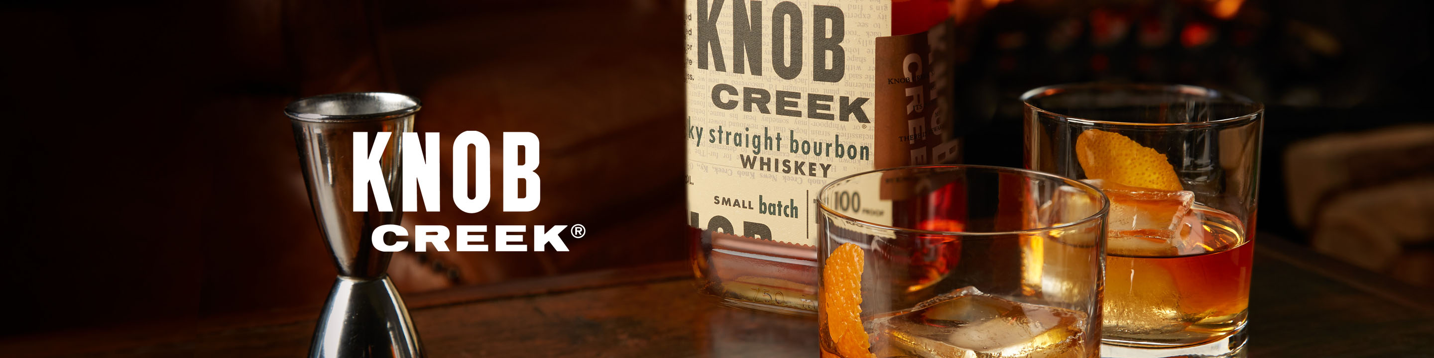Knob Creek® Kentucky Straight Bourbon Whiskey is still made to exacting standards. Knob Creek® is aged to fully draw out the natural sugars in its charred white oak barrels. This exceptional, full-bodied bourbon strikes the senses with an oak aroma, a sweet, woody, full-bodied, almost fruity taste, with a long, rich finish. Created to reflect the flavor, strength, care, and patience that defined whiskey before Prohibition.  Buy Knob Creek online now from nearby liquor stores via Minibar Delivery.