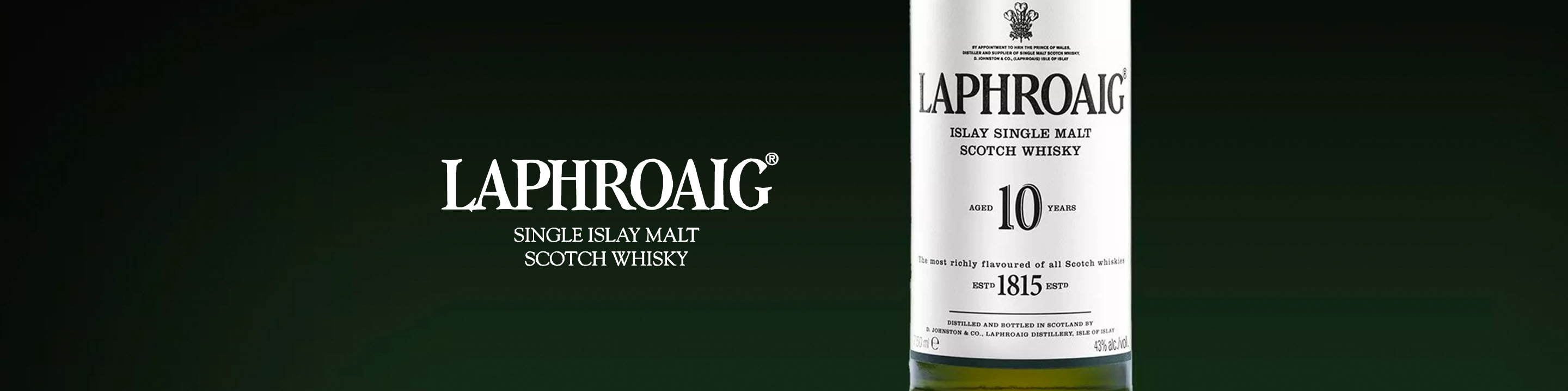 The original Laphroaig, distilled following traditions laid down by Ian Hunter over 75 years ago. In making Laphroaig, malted barley is dried over a peat fire. The smoke from this peat, found only on Islay, gives Laphroaig its particularly rich flavour. 