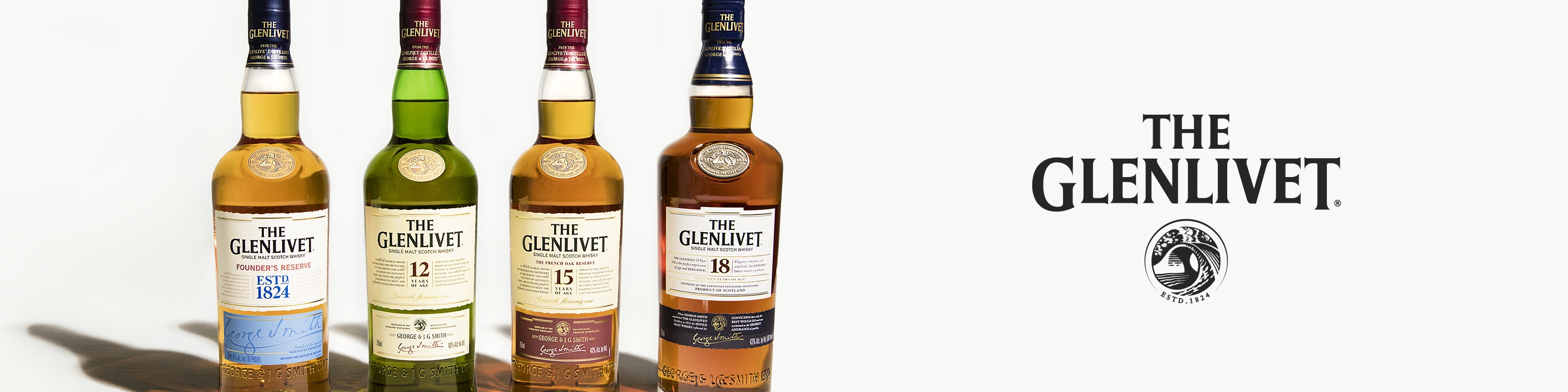 Founded in 1824, The Glenlivet is the leading single malt whisky in the U.S. with its smooth and fruity flavor profile. Our rule for drinking scotch? Drink it the way you like it – neat, on the rocks or in a cocktail.  Buy The Glenlivet online now from your nearby liquor store via Minibar Delivery.