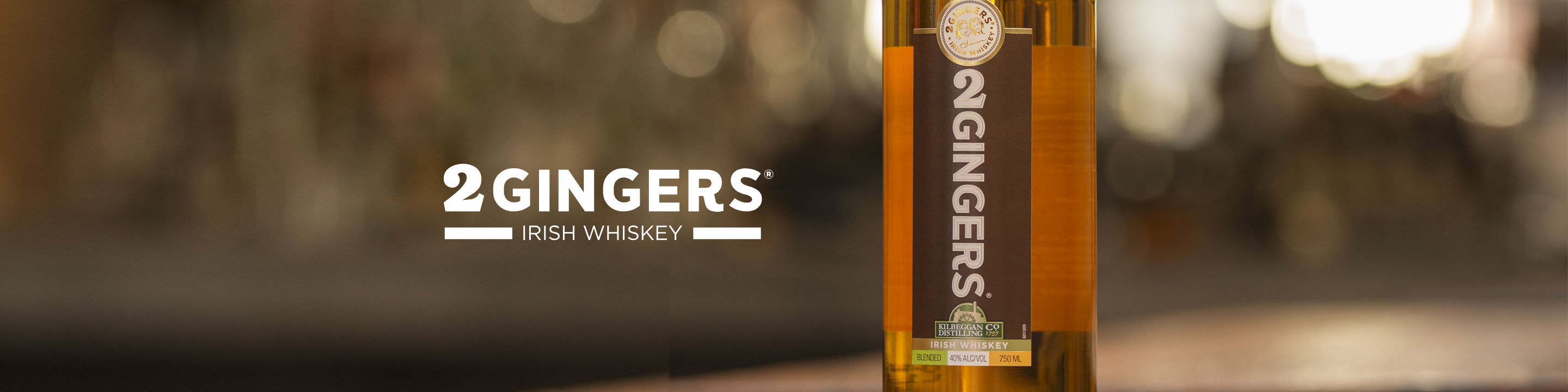 Smooth and slightly sweet to start, followed with a tingle of honey and citrus notes. 2 GINGERS® is a blended Irish whiskey that is distilled twice and aged 4 years in the mild climate of Ireland at the Kilbeggan Distillery, allowing its flavor to live well on its own or as a good base in cocktails.  Buy 2 Gingers online now from nearby liquor stores via Minibar Delivery.