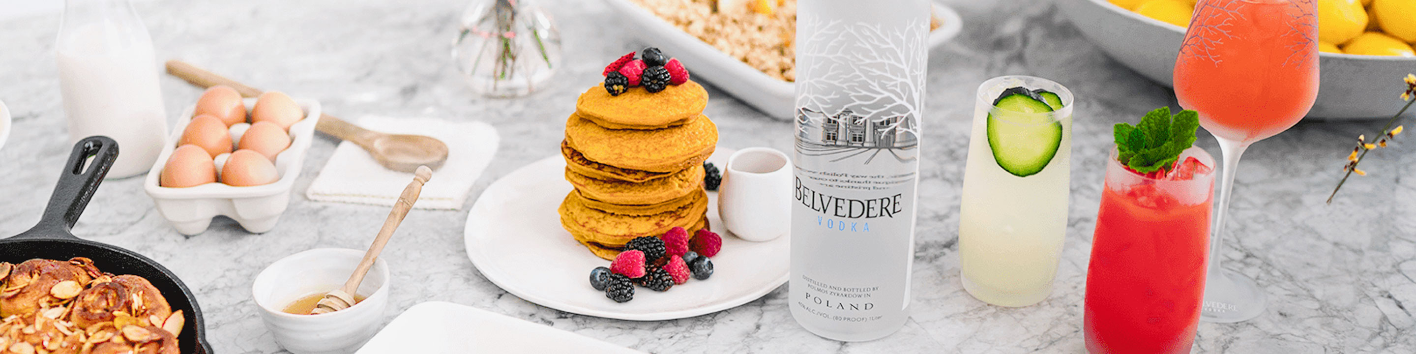 The house of Belvedere proudly uses only natural ingredients in its vodka - Polish rye and water - locally sourced in accordance with the country's rigorous guidelines. The same rules apply to the house's macerated vodkas, made with natural fruits and botanicals.