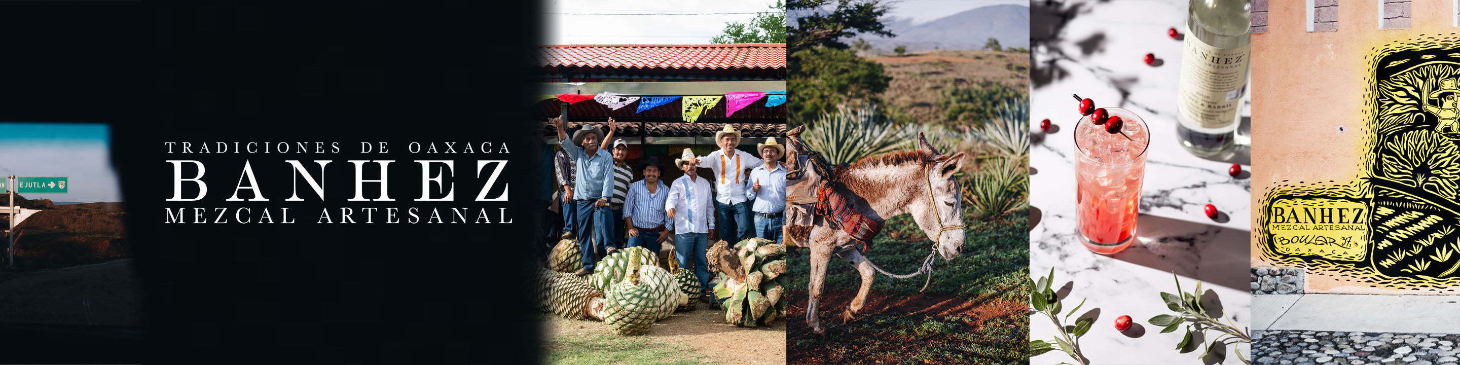 In the village of San Miguel Ejutla in the central valley of Oaxaca, a growing Co-operative of over 36 families produces Banhez Mezcal. The farming families and mezcaleros work as one to make sustainable, fair trade mezcal as their ancestors have done for generations.
