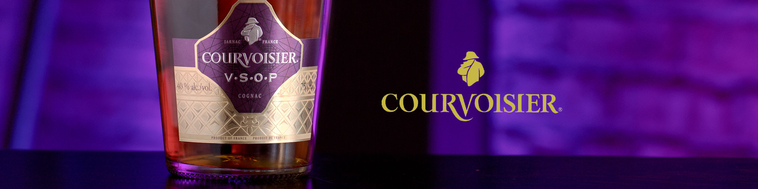 Since its creation in 1809, Courvoisier® has crafted cognac to be rich and sophisticated to ignite the senses and give reason to celebrate. Inspired by innovation, ingenuity and elegance.   Buy Courvoisier online now from nearby liquor stores via Minibar Delivery.