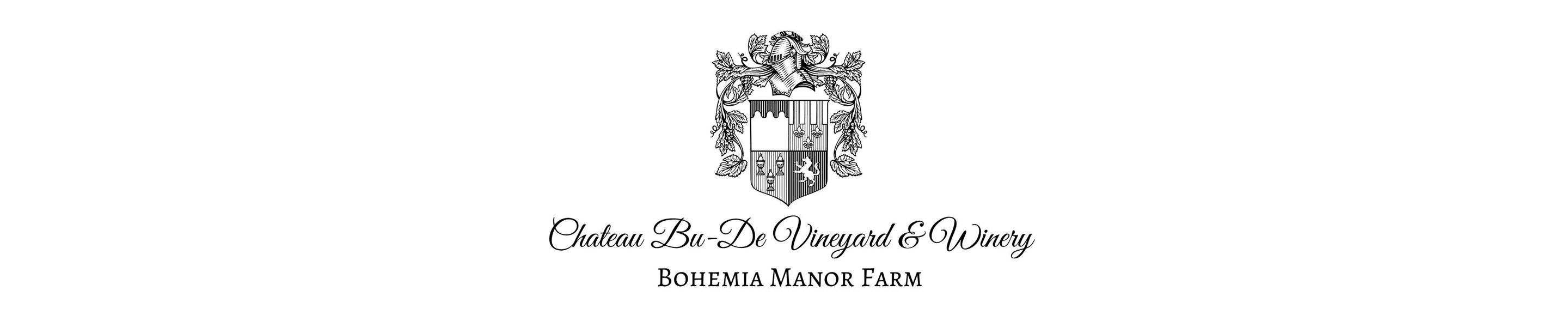 At Chateau Bu-De Vineyard & Winery, Bohemia Manor Farm™, we strive to produce the finest Maryland wines, while staying true to the terrain & sustainable process of winemaking. The passionate & talented winemaker, Jacques van der Vyver, produces the highest quality wines using old world and new world techniques in a state of the art facility. Finding innovative methods to maintain the natural and pure form of the grapes enables Chateau Bu-De to make the finest Maryland Wines.