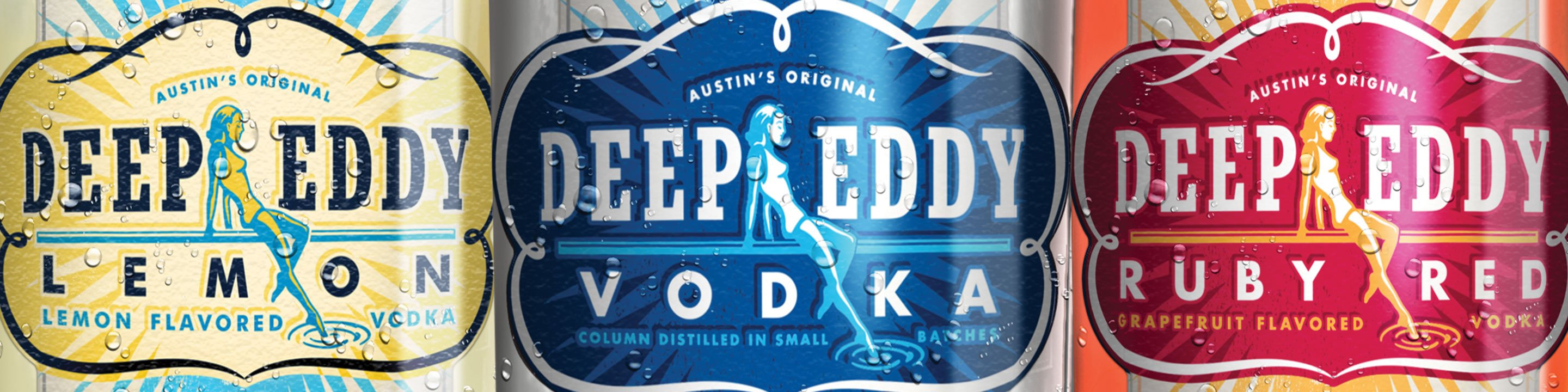 Taste the Deep Eddy Difference  Deep Eddy Vodka is made with all-natural ingredients and real fruit juice. You won't find high-fructose corn syrup or processed sweeteners in this vodka. Being 10x distilled and 8x filtered removes the impurities ensuring a nice, smooth finish