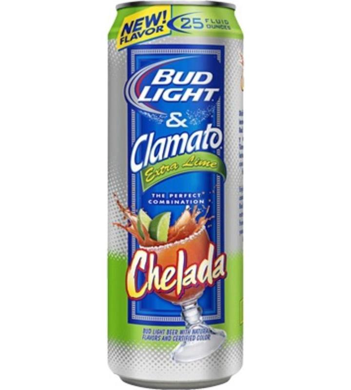 Bud Light & Clamato Extra Lime Chelada