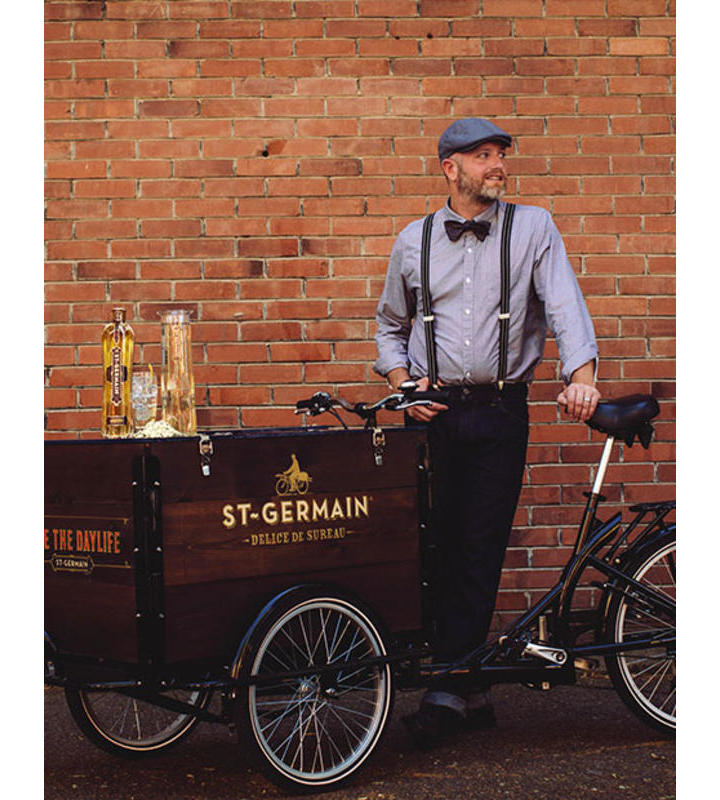 The Biketenders: St-Germain Cocktails Pedaled To Your Door