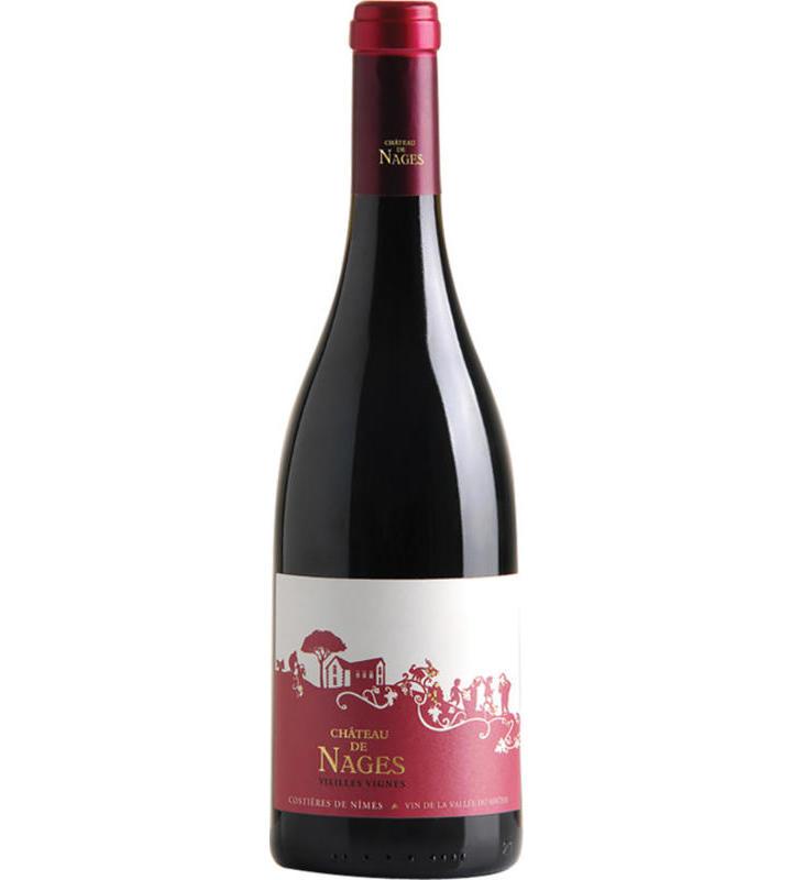 Château De Nages Costieres De Nimes Rouge Vieilles Vignes