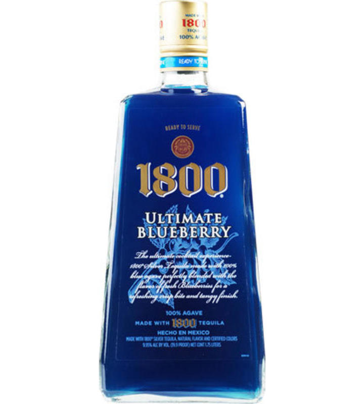 Tequila Brands Blue Bottle