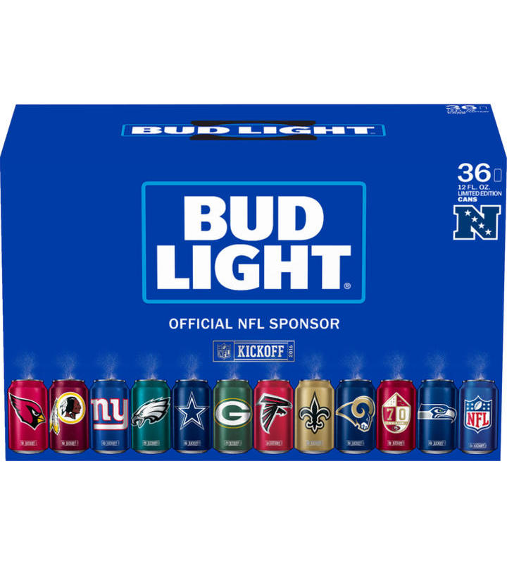 60a49e5d4 Bud Light Nfl Variety 36 Pk Order Online - Minibar Delivery