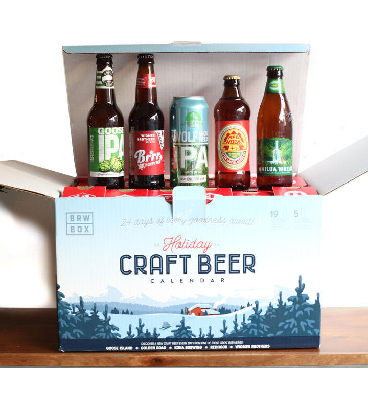 BRWBOX 2016 Holiday Craft Beer Calendar