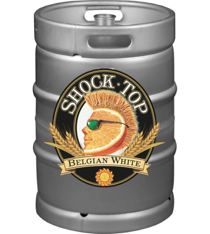 Shock Top Belgian White Keg