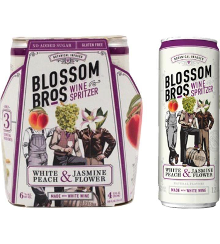 Blossom Bros White Peach Jasmine Flower Wine Spritzer Order Online