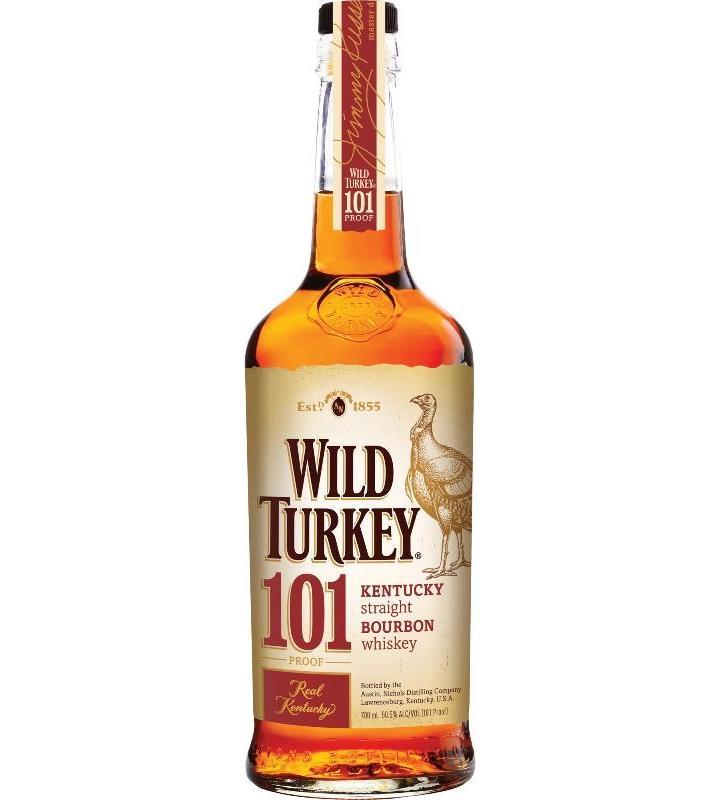 Wild Turkey Kentucky Bourbon 101 Proof